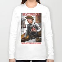 hannibal Long Sleeve T-shirts featuring HANNIBAL by Gart Graphisme