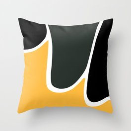 Shapes VI Throw Pillow