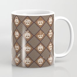 The Nik-Nak Bros. Coughy Break Coffee Mug