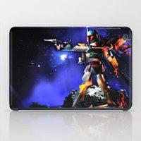 boba fett iPad Cases featuring Boba Fett by m4Calliope
