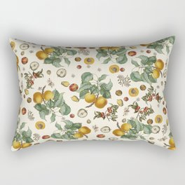 Apples Pears Peaches Rectangular Pillow