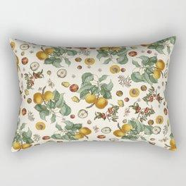 Apples Pears Peaches Rectangular Pillow
