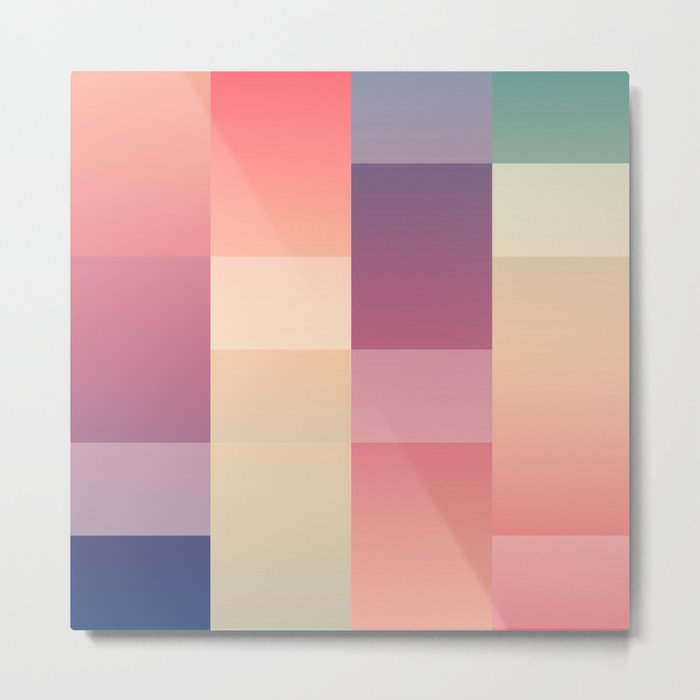 Abstract Sunset #society6 #decor #buyart Metal Print