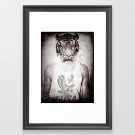 Animal graphic design Framed Art Print