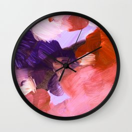 abstract painting V Wall Clock