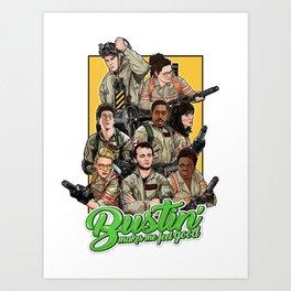 Bustin' Art Print