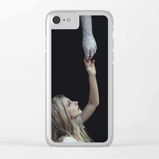 Save me Clear iPhone Case