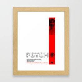 Hitchcock: Psycho Framed Art Print
