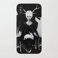 bunny iPhone & iPod Cases featuring Space Within by Ruben Ireland