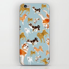 Japanese Dog Breeds iPhone Skin
