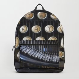 Vintage Typewriter Backpack