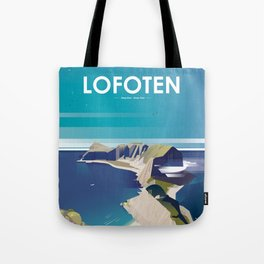 Alone In Nature - Deep Blue Deep View Tote Bag