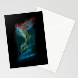 Aurora bird Stationery Cards