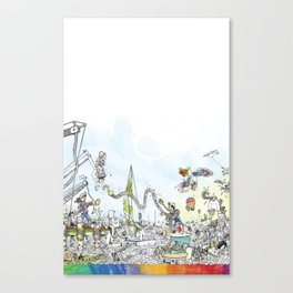 you're COLOR - Page 9 Canvas Print