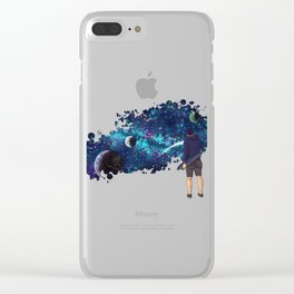 The Johnny Project Pt. 2 Clear iPhone Case