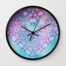 Floral Fairy Tale Wall Clock