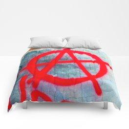 Anarchy Graffiti Comforters