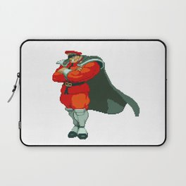 M. Bison (AKA Vega) Pixel Art Laptop Sleeve