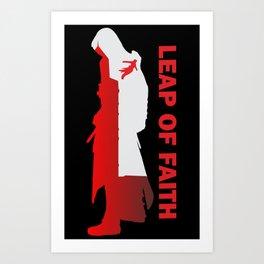 Assassin's Creed - Leap of Faith Art Print