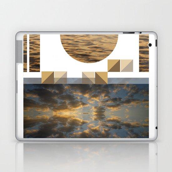 Sea Clouds—photo collage!¡!¡!ƒün! Laptop & iPad Skin
