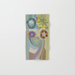 Recogitation Web Flowers  ID:16165-062317-11821 Hand & Bath Towel