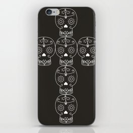 skull cross iPhone Skin