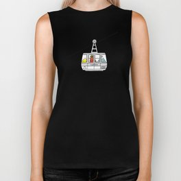 """Pop and Pals: UP, UP, UP! ""  Biker Tank"