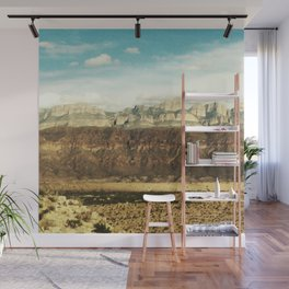 Chisos Mountains at Big Bend Wall Mural