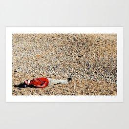 A Quick Rest No.1 Art Print