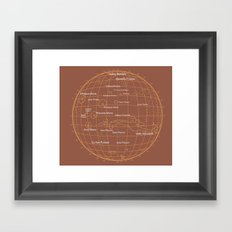 Mars 1 Framed Art Print