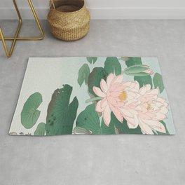 Ohara Koson - Water Lillies Rug