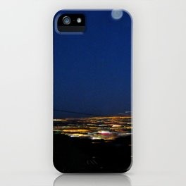 Runyon Moon iPhone Case