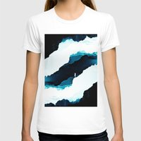 teal T-shirts featuring Teal Isolation by Stoian Hitrov - Sto