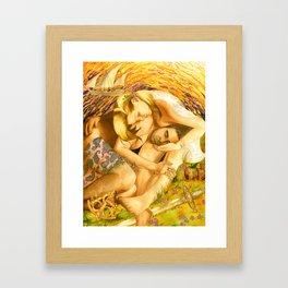Nimue & Sinbad Framed Art Print