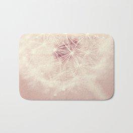 dandelion postcard Bath Mat