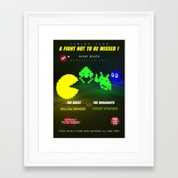 fight Framed Art Prints featuring Fight ! by mauro mondin