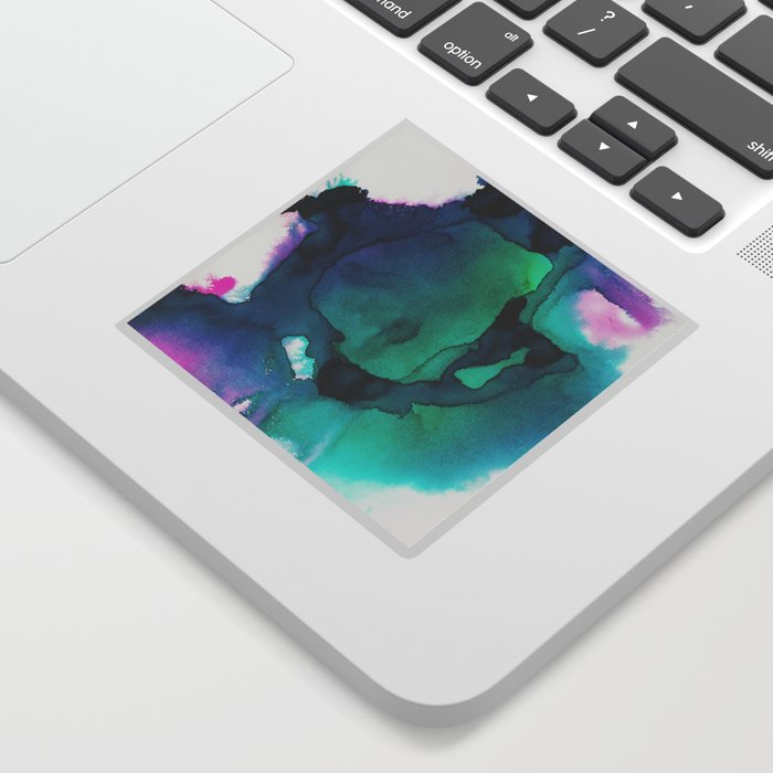 water color explosion 2 Sticker