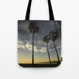 Venice Beach Sunset Tote Bag