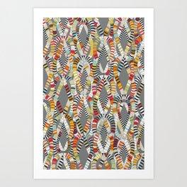 knot drop Art Print