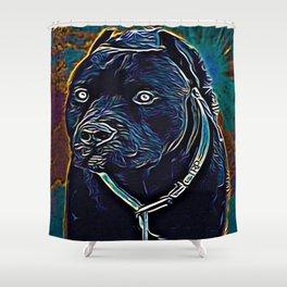 Pit Bull Models: Khan 02-06 Shower Curtain