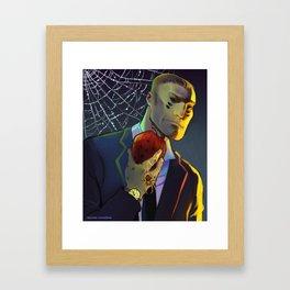 Web Kepler Framed Art Print