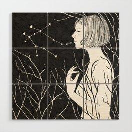 Under Stars (Aurora Aksnes) Wood Wall Art