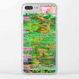 Chart Buster Clear iPhone Case