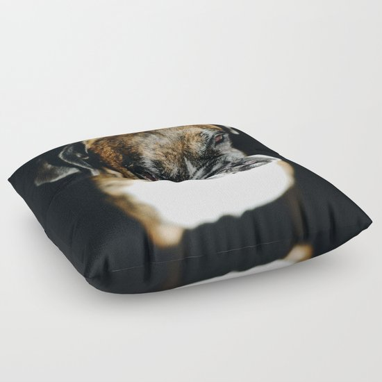 Animal Shaped Floor Pillows : Boxer Dog Floor Pillow by SvanteKallquist Society6