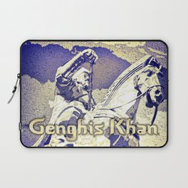 Spirit of the Great Gobi Desert - Genghis Khan Laptop Sleeve