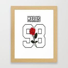 Jonah Marais - Rose Framed Art Print