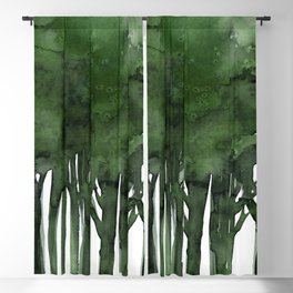 Tree Impressions No.1C by Kathy Morton Stanion Blackout Curtain