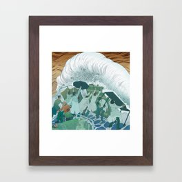 Our Healthcare Workers Framed Art Print