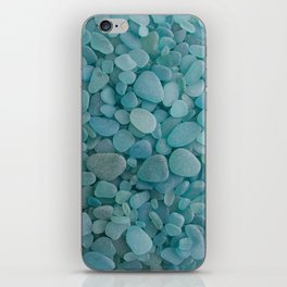 Japanese Sea Glass - Low Tide Blues I iPhone Skin