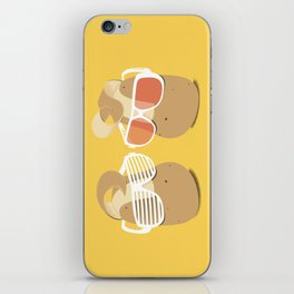 Cool Potatoes iPhone Skin